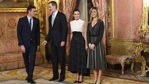 Begoña Gómez, cambio de look y vestido de rebajas para capear la polémica