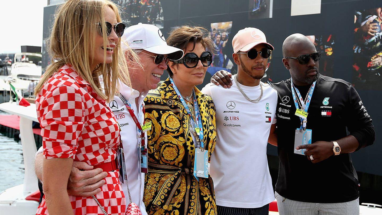 Tommy Hilfiger, con su nueva imagen de marca: Lewis Hamilton. (Getty)