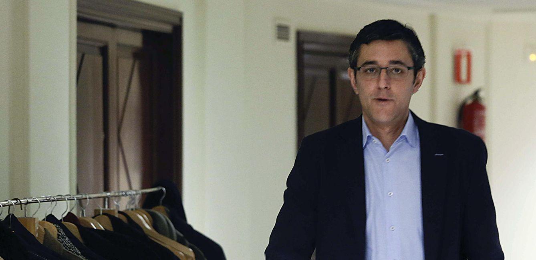 Eduardo Madina, el pasado 19 de febrero en el Congreso. (EFE)
