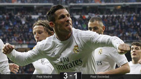 Cristiano salva a Benítez bajo un ambiente insostenible en el Bernabéu
