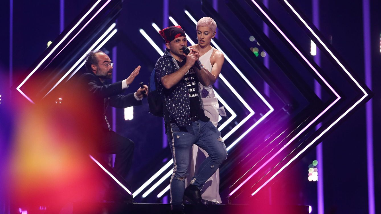 Eurovisión 2018 | ¿Quién es el espontáneo 'profesional' que ha interrumpido el festival?