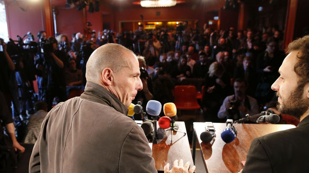 Foto: Yanis Varufakis durante una rueda de prensa en Berlín para presentar el movimiento DiEM 25 (Reuters).