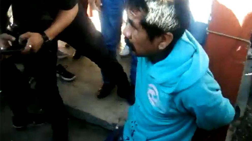 Queman vivo al pederasta que violó y decapitó a una niña de 6 años en México