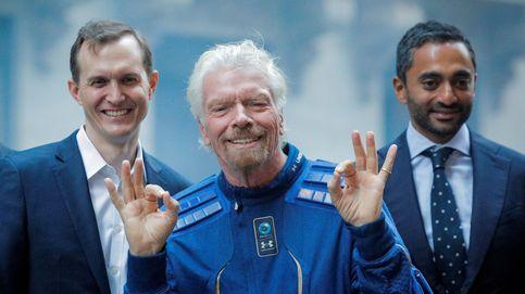 Richard Branson se adelanta a Jeff Bezos: será el primer multimillonario en viajar al espacio