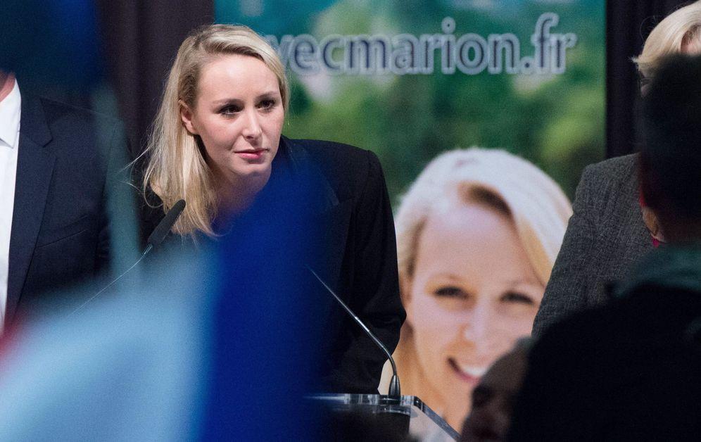 Foto: Marion Maréchal-Le Pen. (Clement Mahoudeau/ EFE)