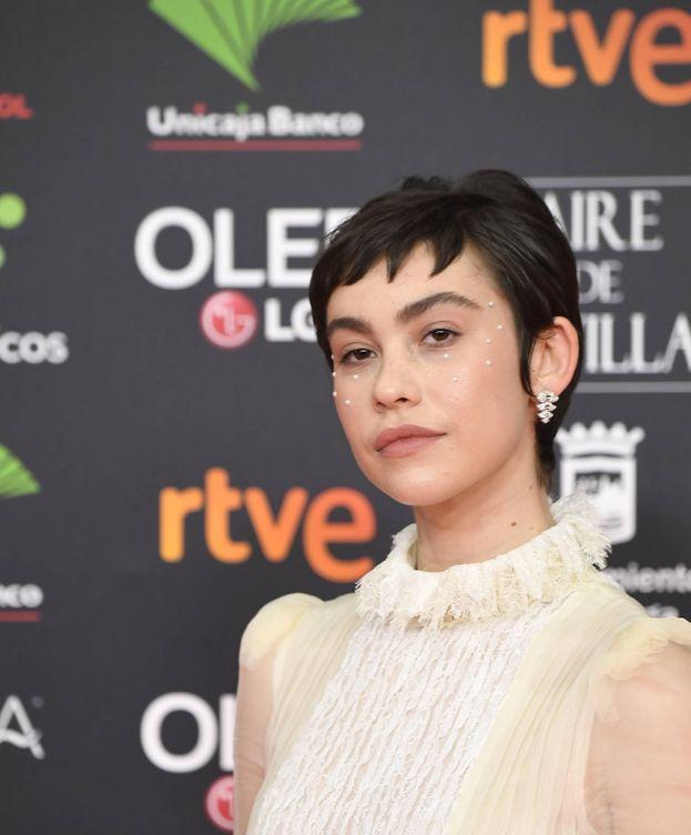 Foto: El maquillaje perlado de Greta Fernández (Limited Pictures)