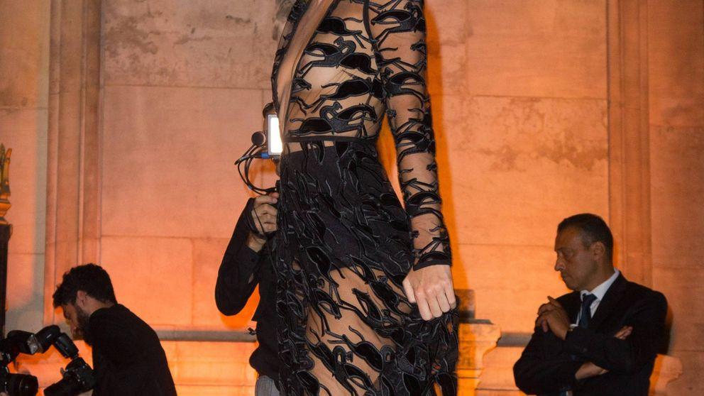 Todo lo que debes saber del vestido transparente de Kendall Jenner en París