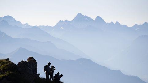 Senda alpina en Suiza