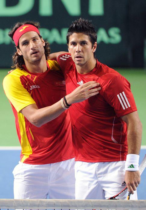 Foto: Fernando Verdasco y Feliciano López (Gtres)