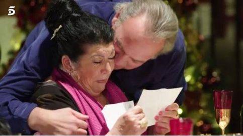 Bertín se emociona ante las madres de Alaska, Niña Pastori y Fernando Tejero