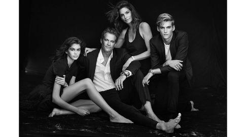 Los hijos de Cindy Crawford, nuevos embajadores de Omega en París