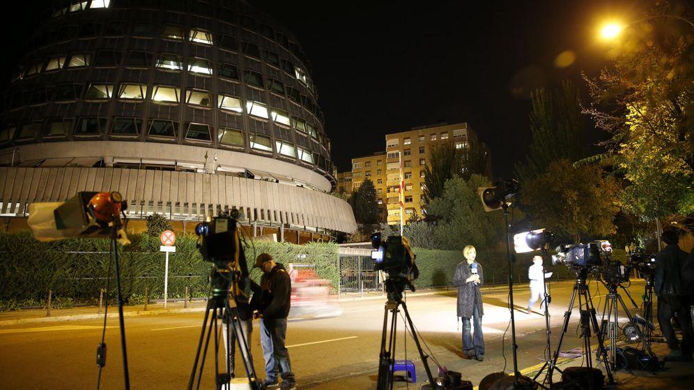 Foto: Edificio del Tribunal Constitucional en Madrid. (EFE)