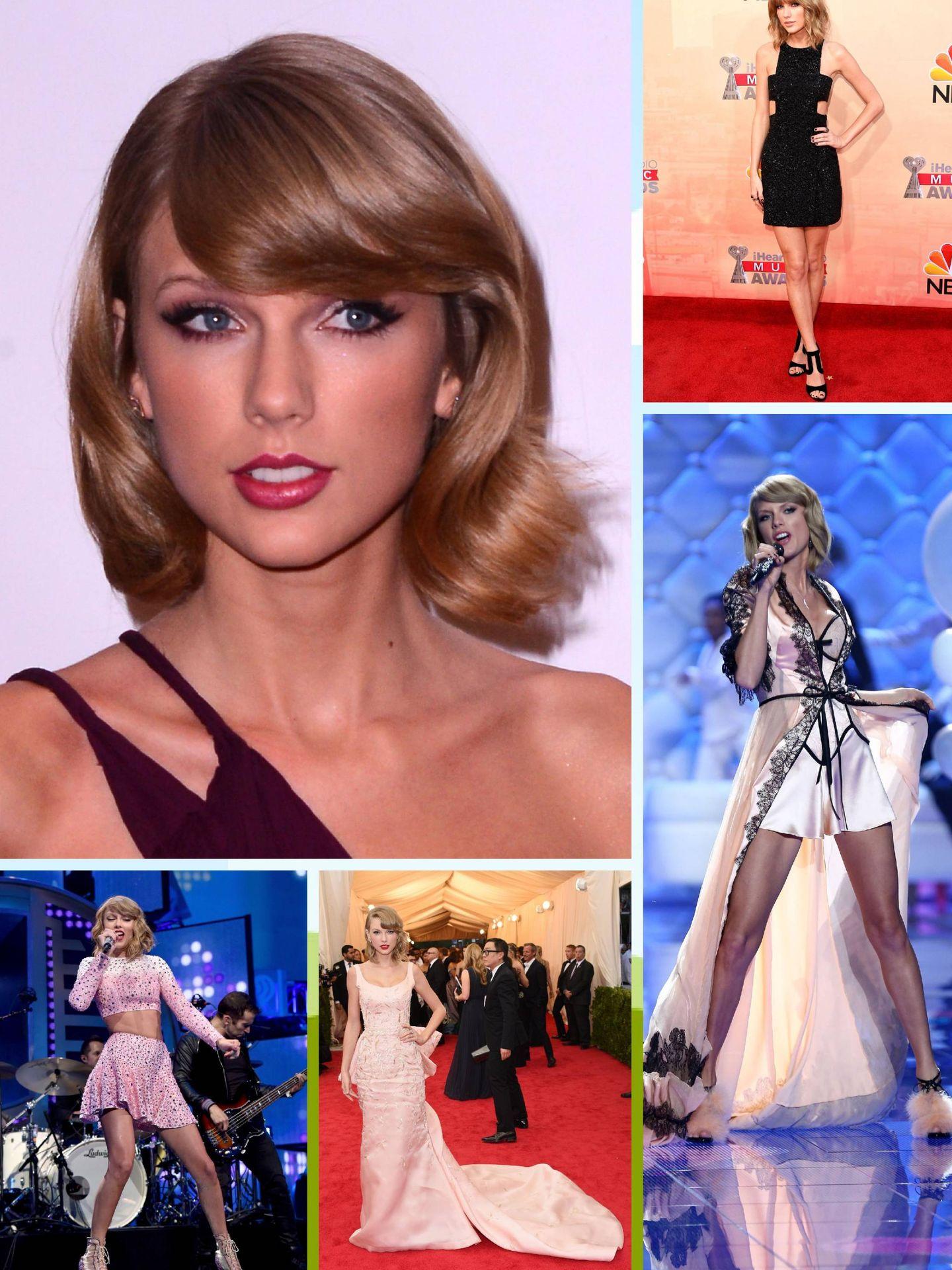 Taylor, en continua transformación. (Getty)