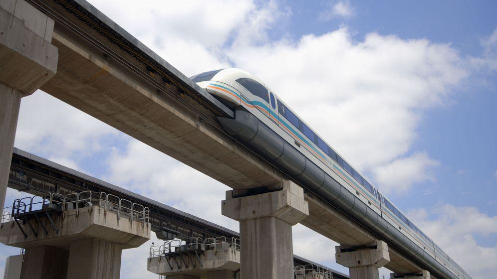 Foto: Tren 'maglev' de Shanghai