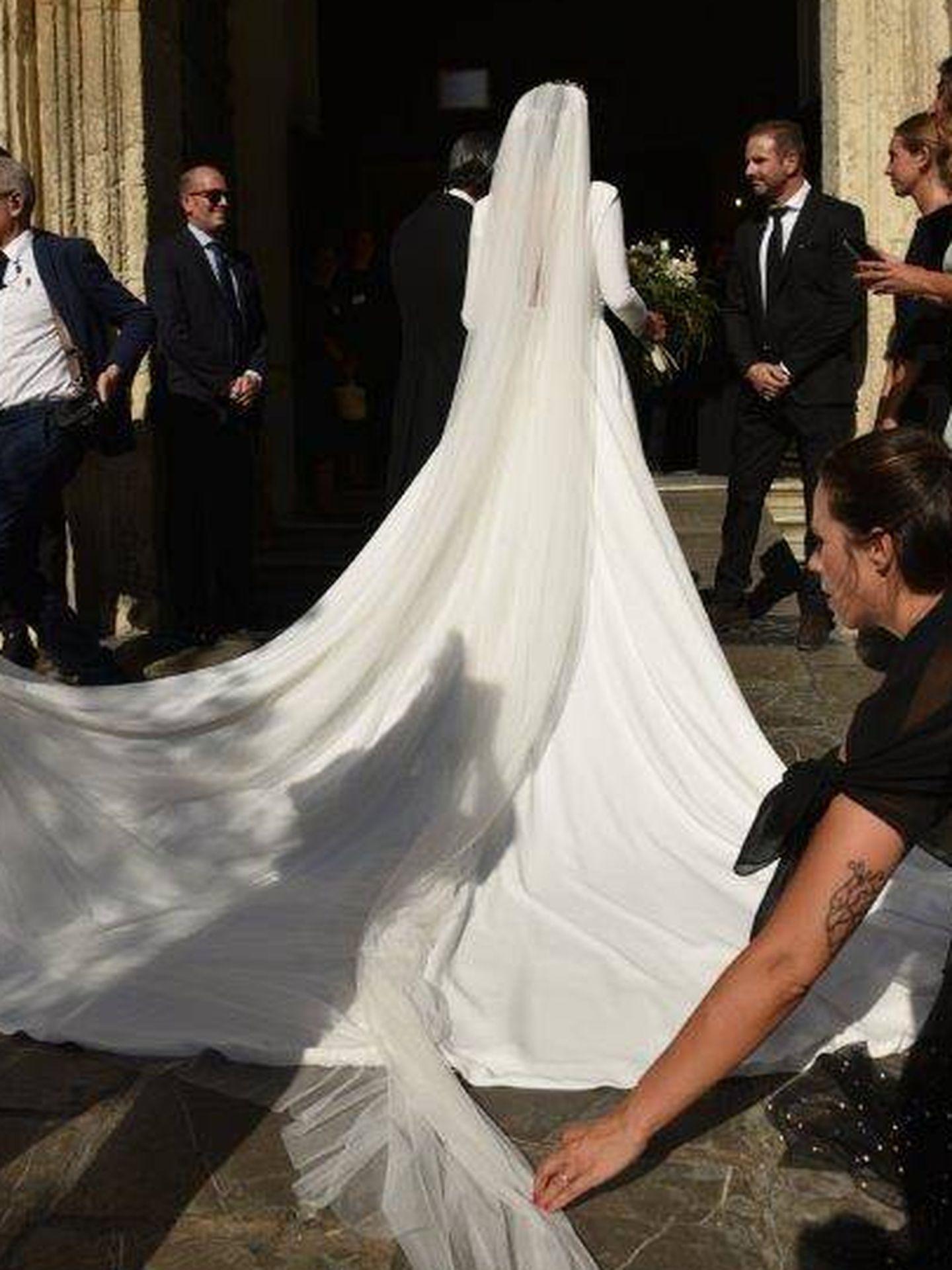Rocío Osorno en su boda. (Sevilla Press)