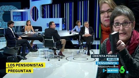 Los pensionistas enfurecen contra el PP en 'El objetivo de Ana Pastor'