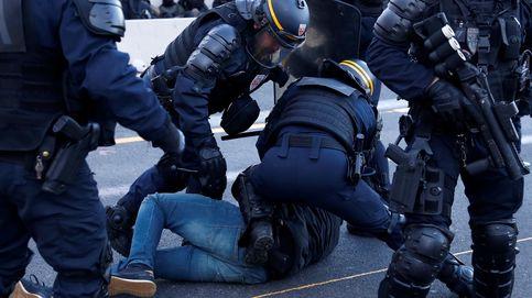 La policía francesa desaloja a los militantes independentistas en La Jonquera