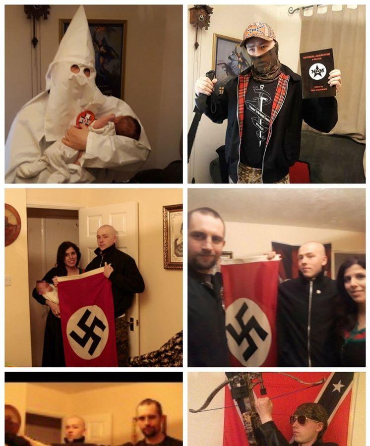 Foto: Una pareja de neonazis condenada a más de 5 años de prisión en reino unido