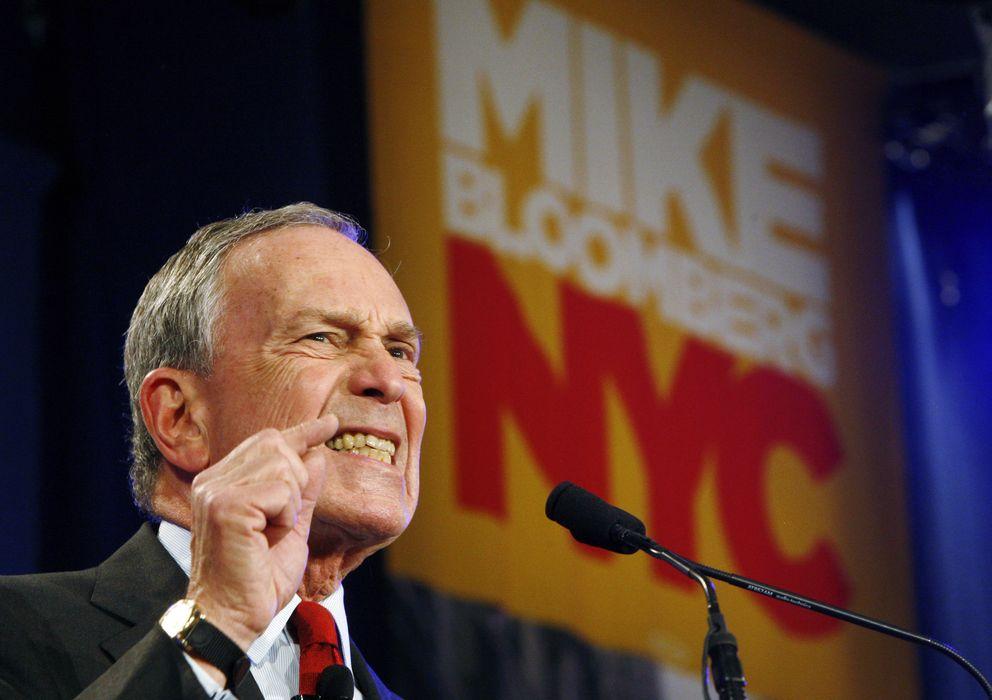 Foto: El ya exalcalde de Nueva York, Michael Bloomberg, tras vencer en las elecciones de 2009. (Reuters)