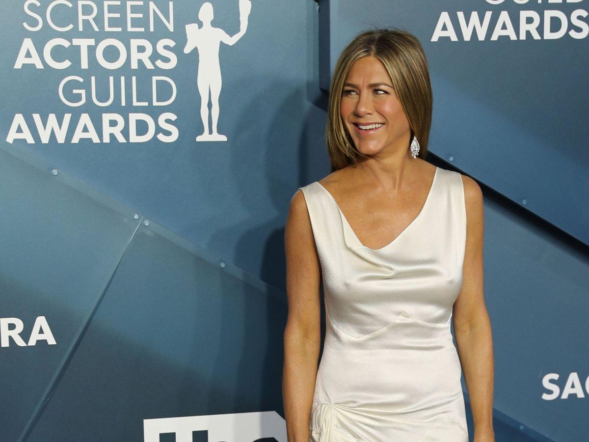 Foto: Jennifer Aniston, a su llegada a los Premios SAG. (EFE)
