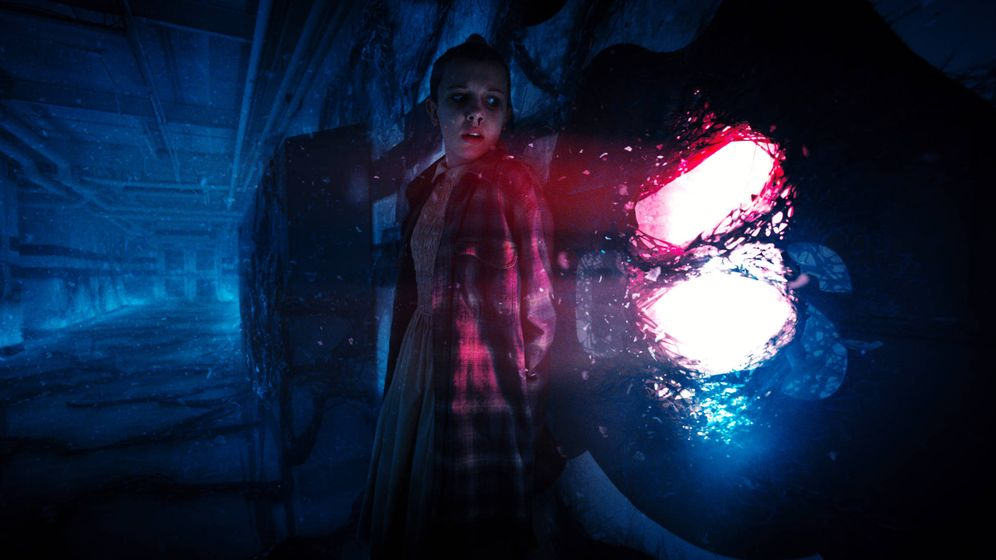 Foto: Imagen de la segunda temporada de 'Stranger Things'.