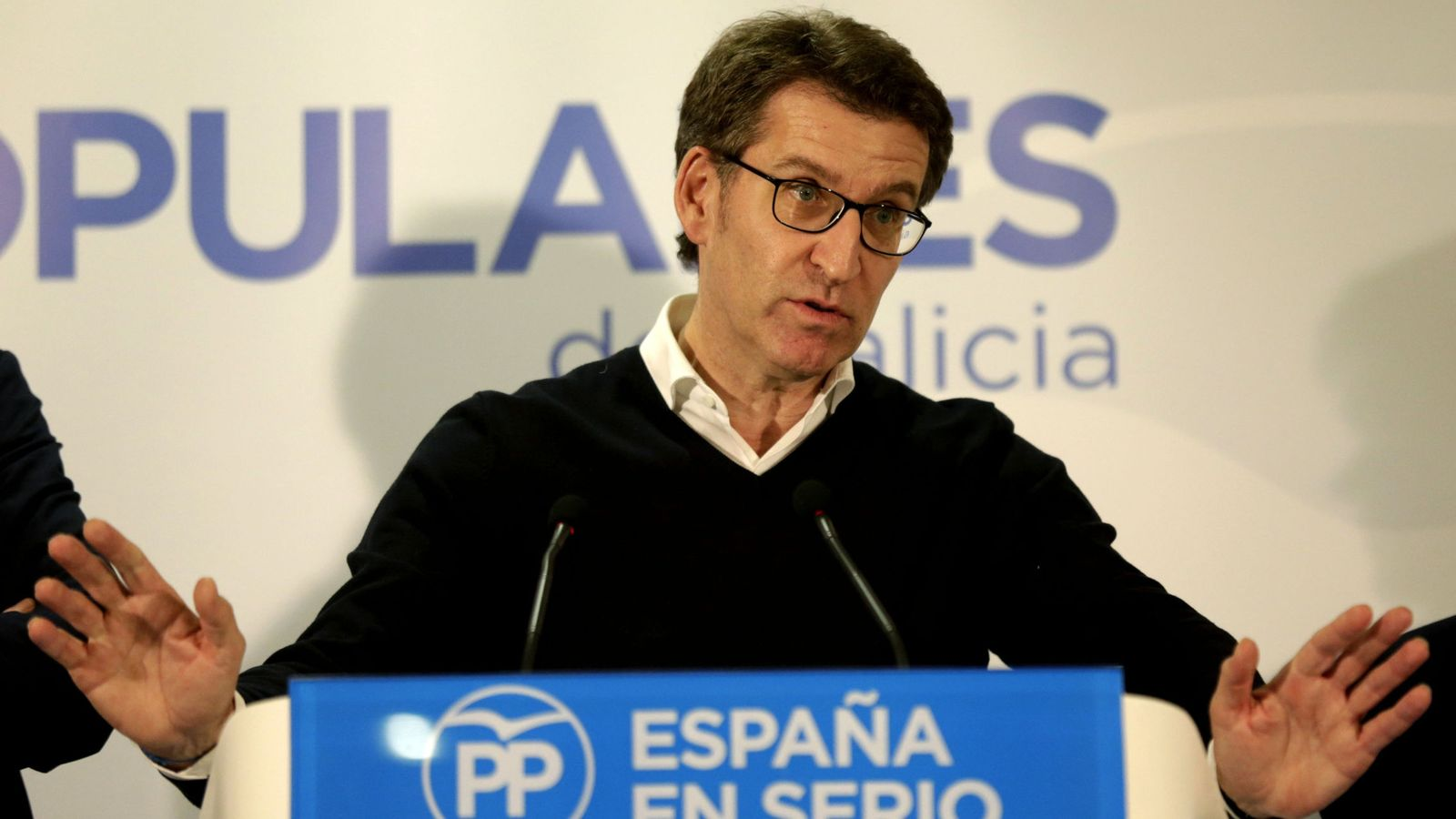 Foto: Alberto Núñez Feijóo, tras las elecciones generales del pasado 20 de diciembre. (EFE)