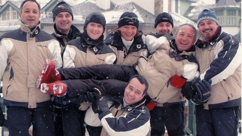 Foto: Los ocho hermanos, en una imagen de su perfil en redes sociales.