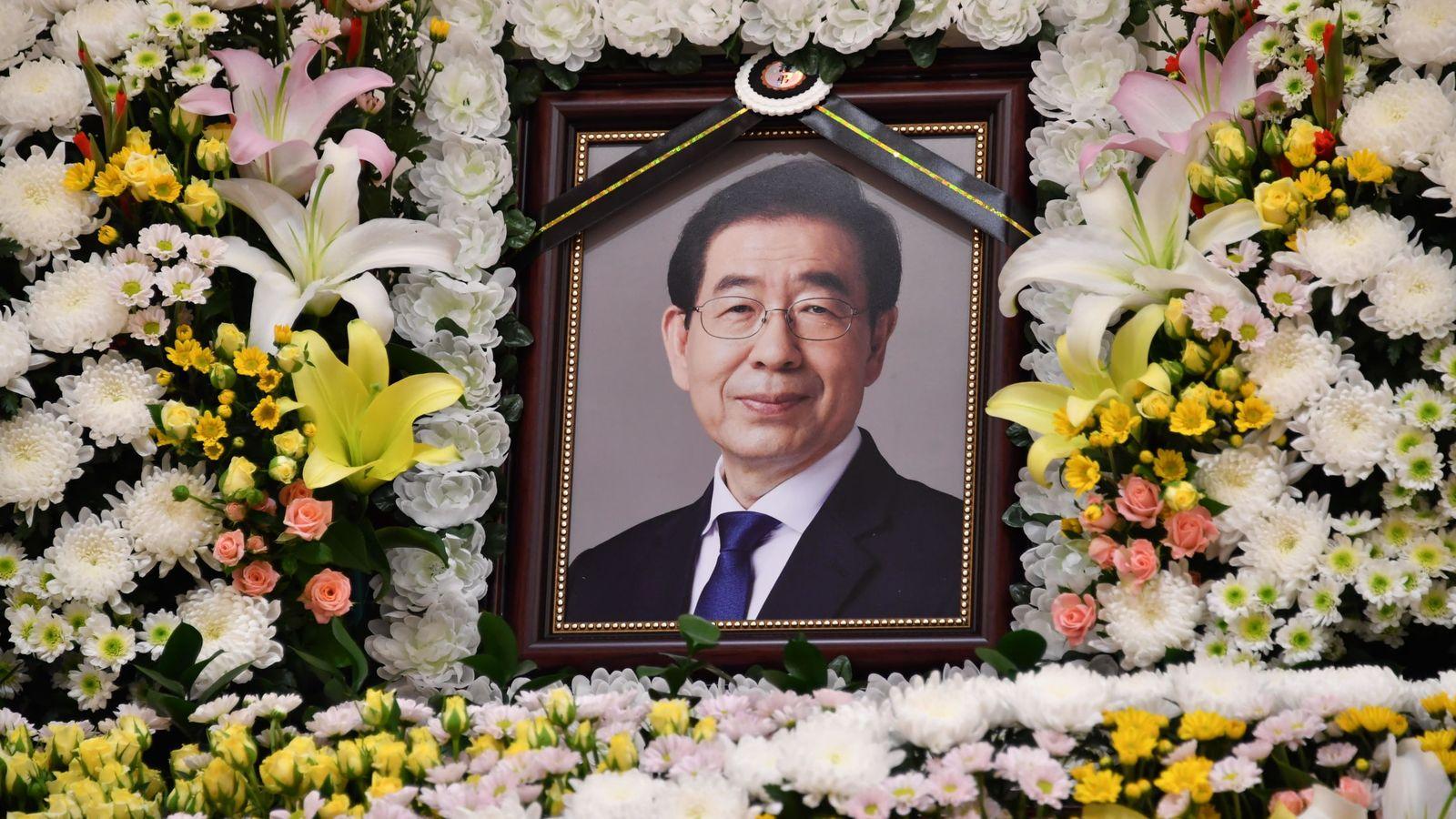 La nota de despedida que dejó el alcalde de Seúl antes de morir: «Discúlpenme todos»
