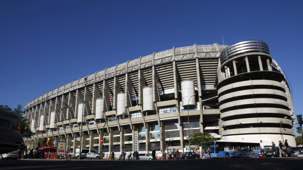 Foto: Imagen exterior del Santiago Bernabéu. (Cordon Press)