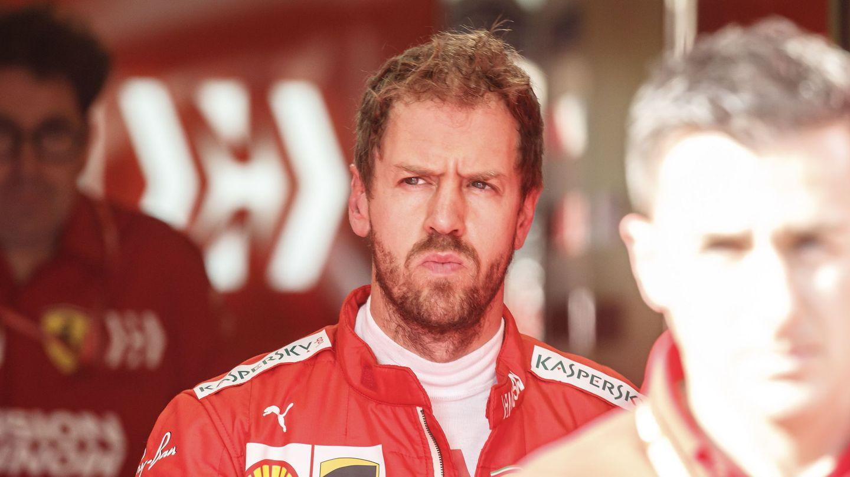 Sebastian Vettel en una de las últimas carreras de la temporada. (EFE)