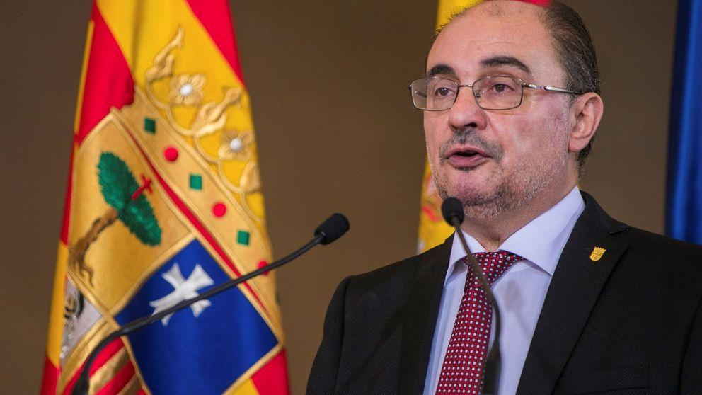 El PSOE arropa a Lambán en Zaragoza y reivindica los pactos de ideología diversa