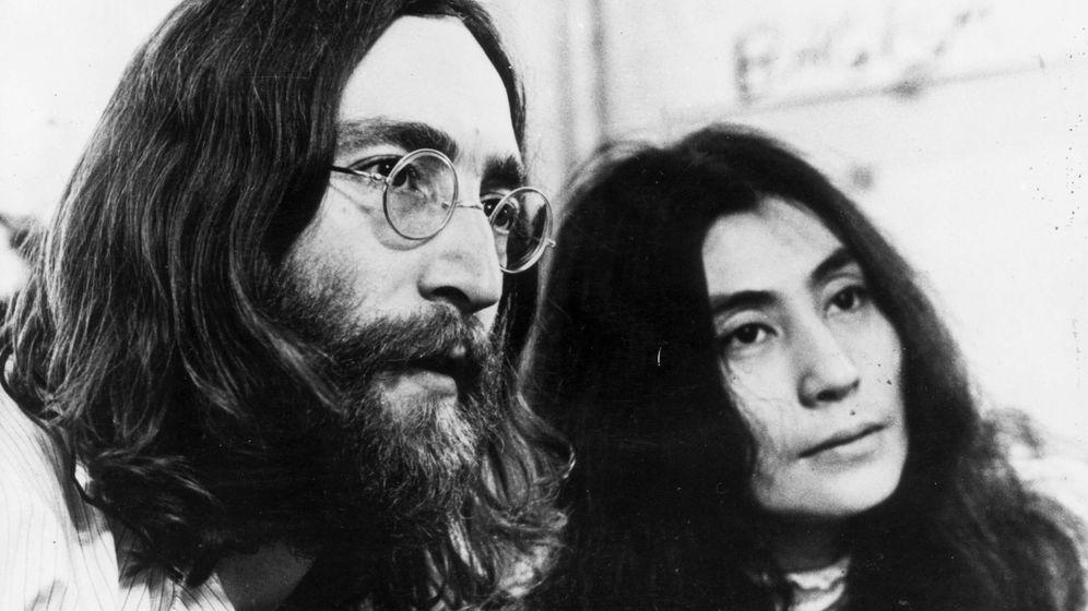 Foto:  John Lennon y Yoko Ono. (Getty)