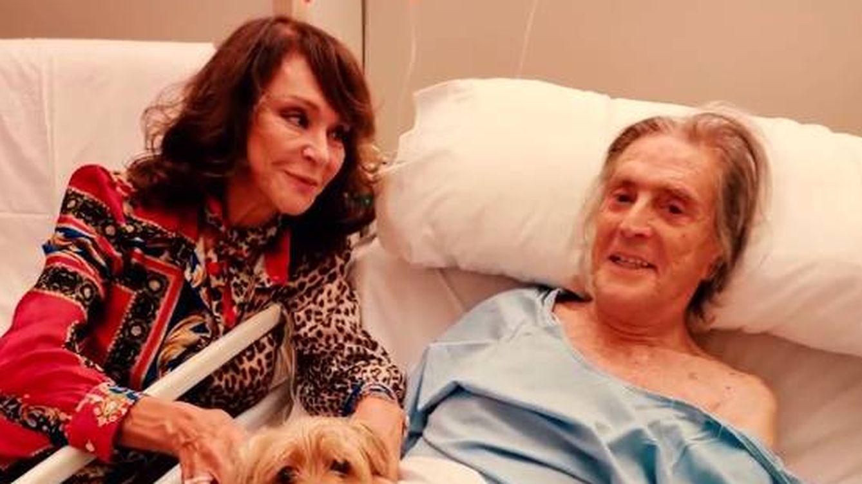 La preocupante imagen de Jaime Ostos en el hospital