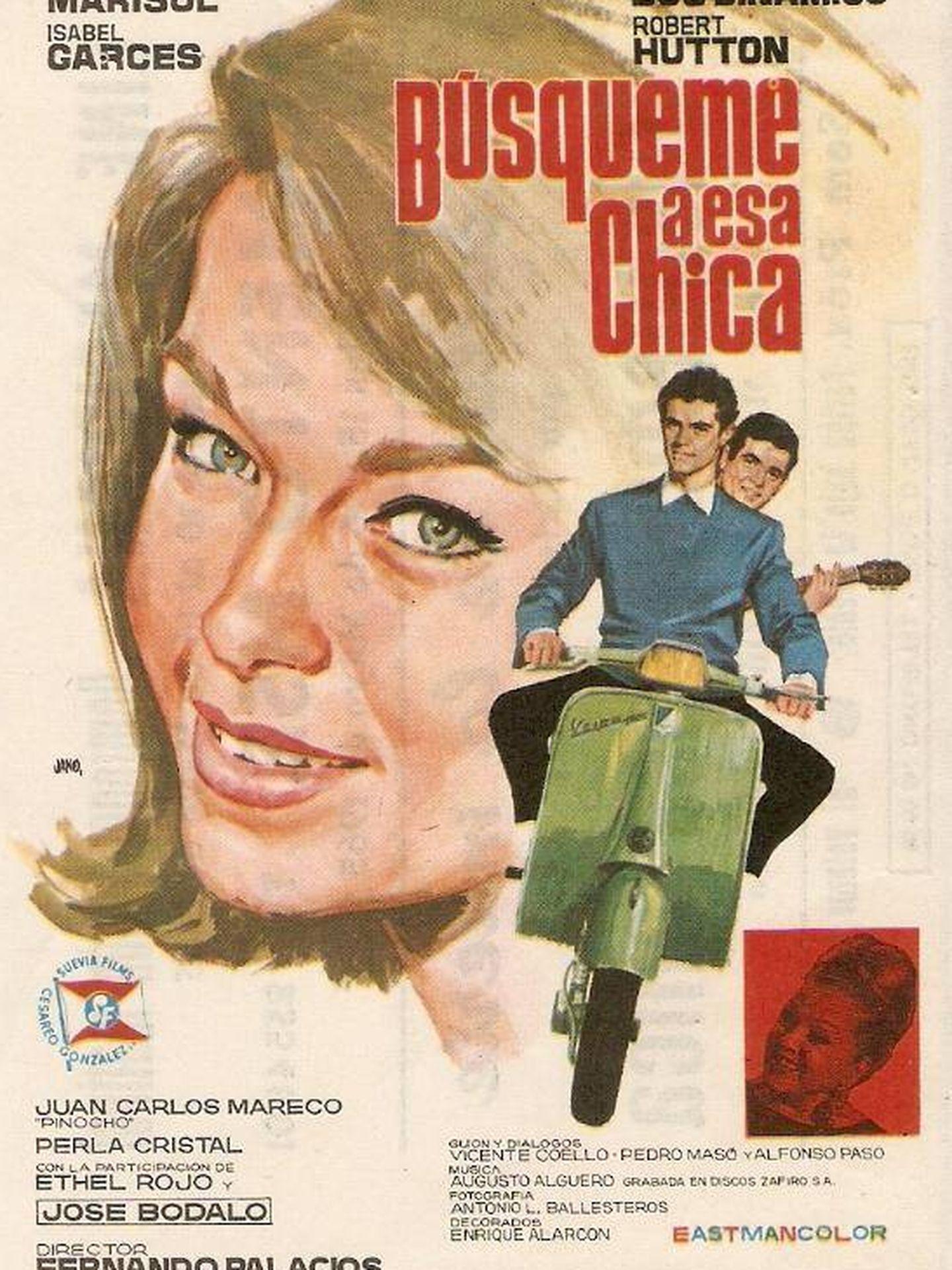 Cartel promocional de la película 'Búsqueme a esa chica'.