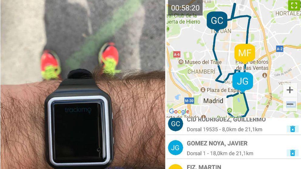 He corrido la media maratón conectada de Telefónica con su reloj (y nunca más)