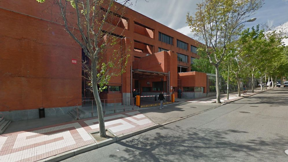 Foto: Central logística del BdE situada en el número 522 de la calle Alcalá de Madrid. (Google Maps)