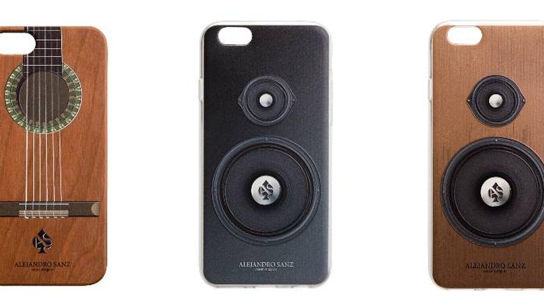 Carcasas de iPhone de la colección de Alejandro Sanz. (Cortesía de la marca)