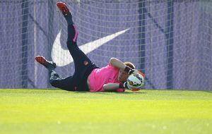 El Barça confirma la lesión en la espalda de Ter Stegen: sufre una contusión lumbar