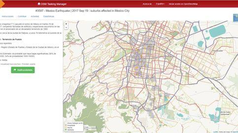 Mapas y buscadores. Cómo internet está ayudando en el terremoto de México