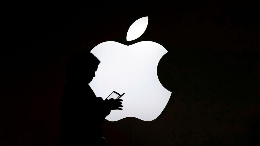 Foto: El logo de Apple. (Reuters)