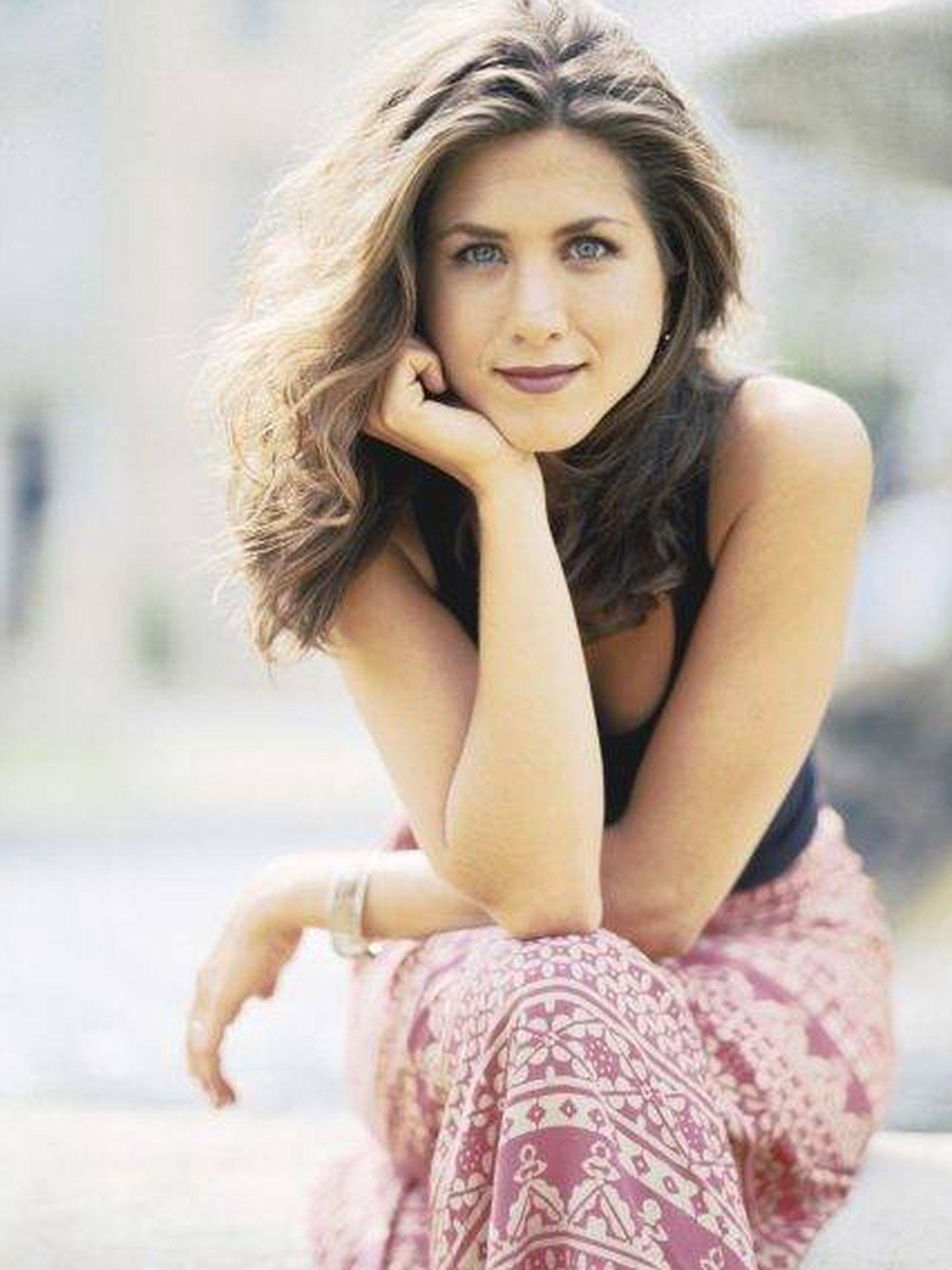 Jennifer Aniston, en la primera temporada de 'Friends'. (NBC)