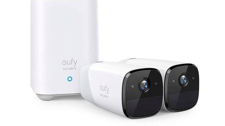 Cámara wifi exterior Eufy con la mejor batería