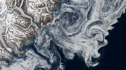 Río Oscuro, el cauce fluvial de 1.000 km que circula bajo el hielo de Groenlandia