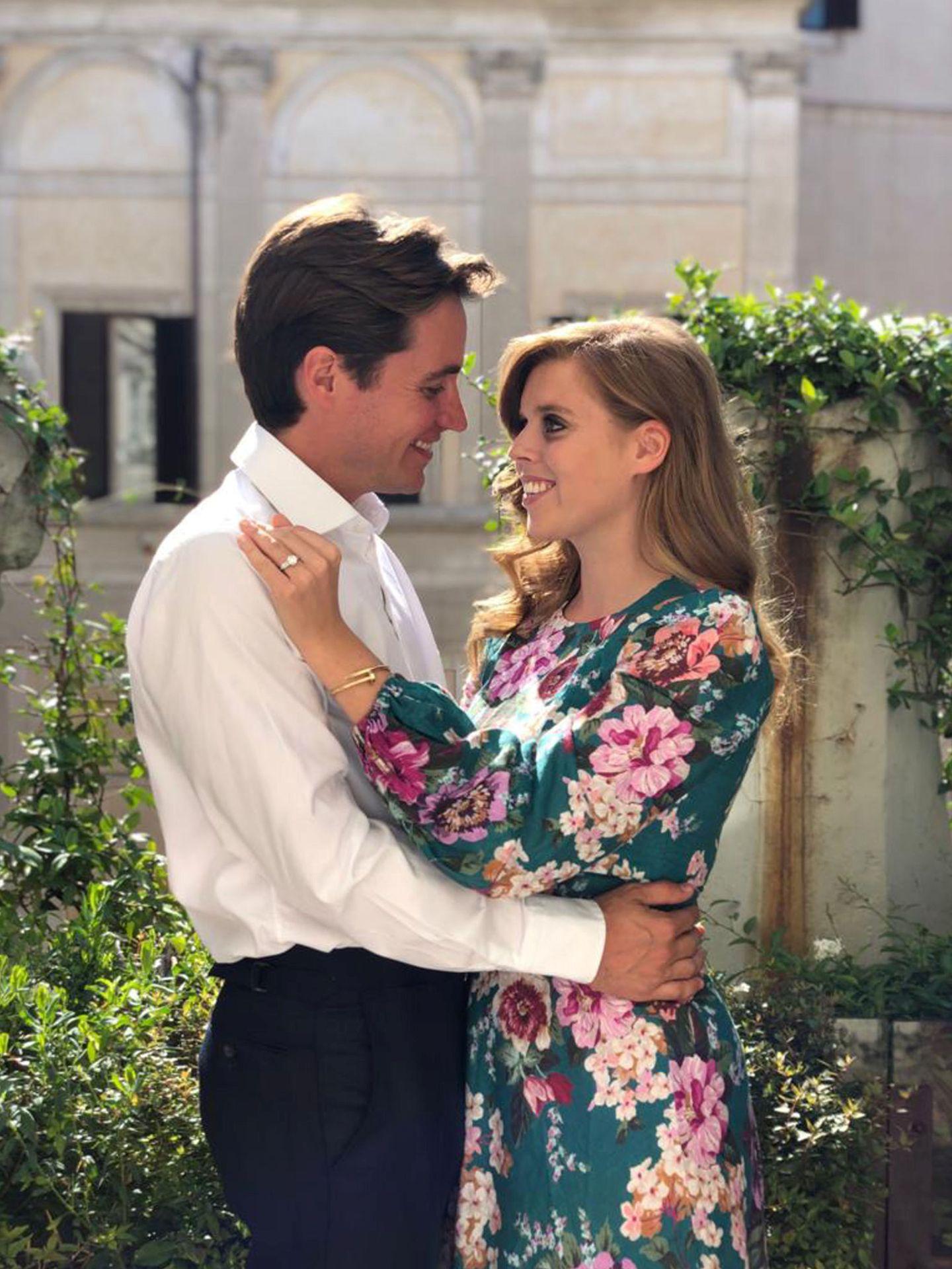 Beatriz y Edoardo anunciaron su compromiso el pasado septiembre. (Reuters)