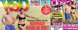 La revista VSD, condenada a pagar 2.000 euros a Valérie Trierweiler