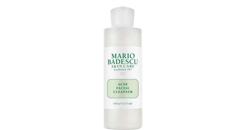 Limpiador Facial Antiacné de Mario Badescu.