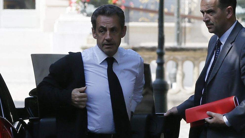 Nicolas Sarkozy, detenido de forma provisional por tráfico de influencias