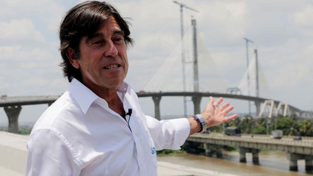 Foto: El presidente de Sacyr, Manuel Manrique, en una imagen de archivo en Colombia. (EFE)