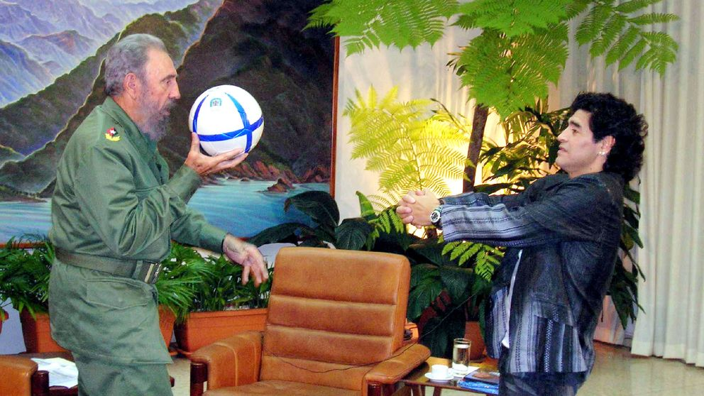 Diego Maradona llora a Fidel Castro: Fue como mi segundo padre