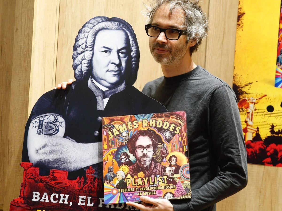 Foto: James Rhodes, en la presentación de 'Playlist', en septiembre de 2019. (EFE)